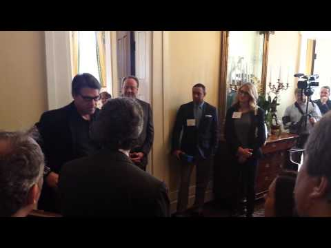 Entertainment Software Association coffee meeting with Governor Rick Perry. 3/10/14, part two