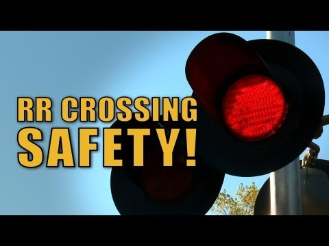 RR Crossing Safety - The Choo Choo Bob Show