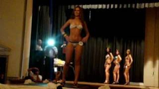 MIss Elegancia, Fernanda Lima. Desfile De Biquini. Miss