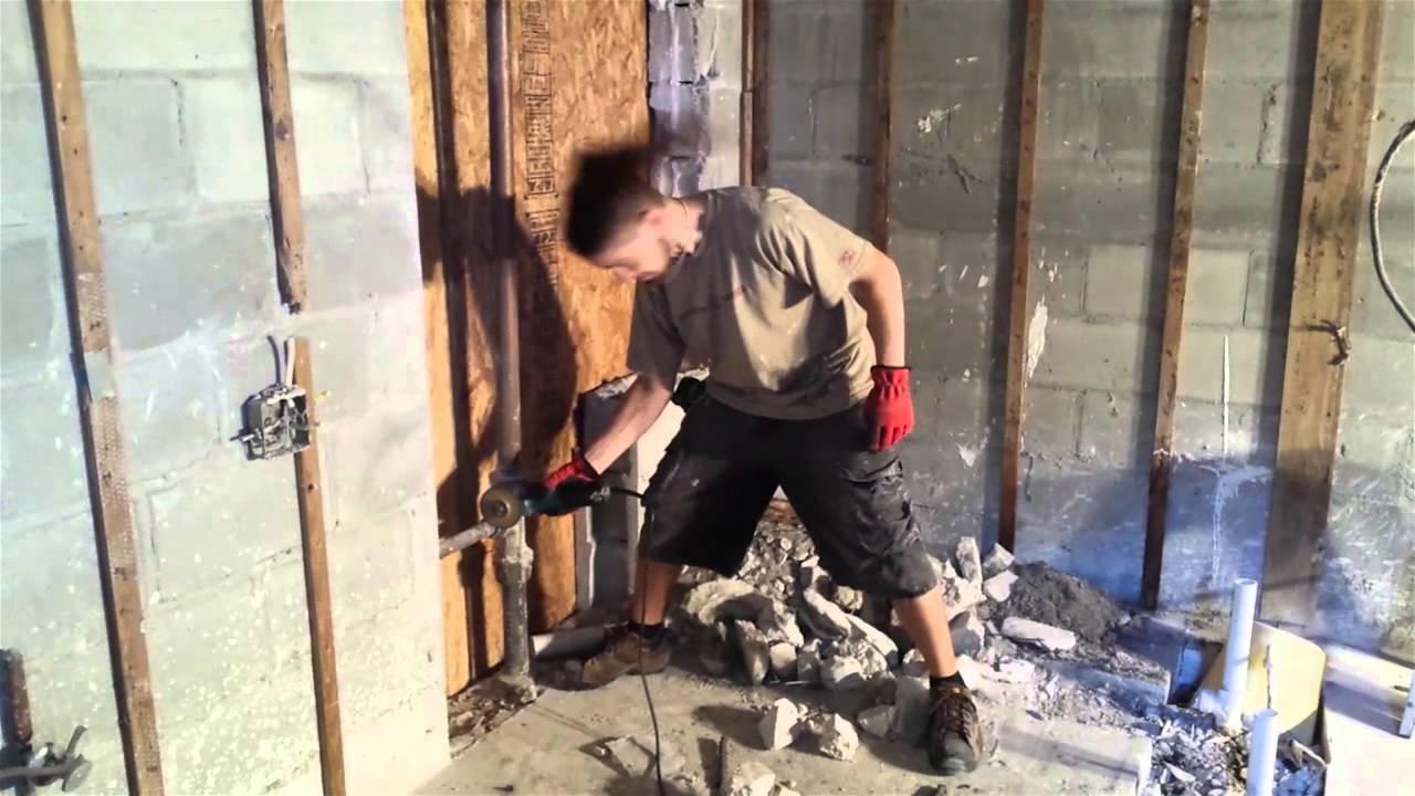 Quand un métaleux fait des travaux chez lui