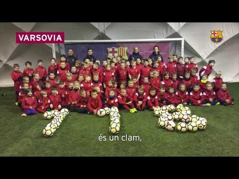 FC Barcelona 118 anniversary - Cant del Barça