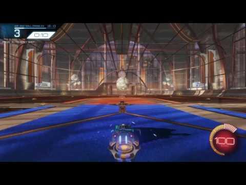 (Rocket League)Testing My Skills(Custom Training)