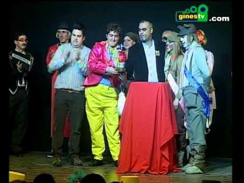 Entrega de premios del CECAG 2013. Carnaval de Gines (Gran Final)