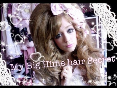 My Huge Hime Gyaru hair secret