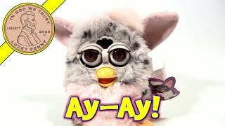 Furby Gray With Pink, 1998 Tiger Electronics - Our Furby has a Cold or Allergies!