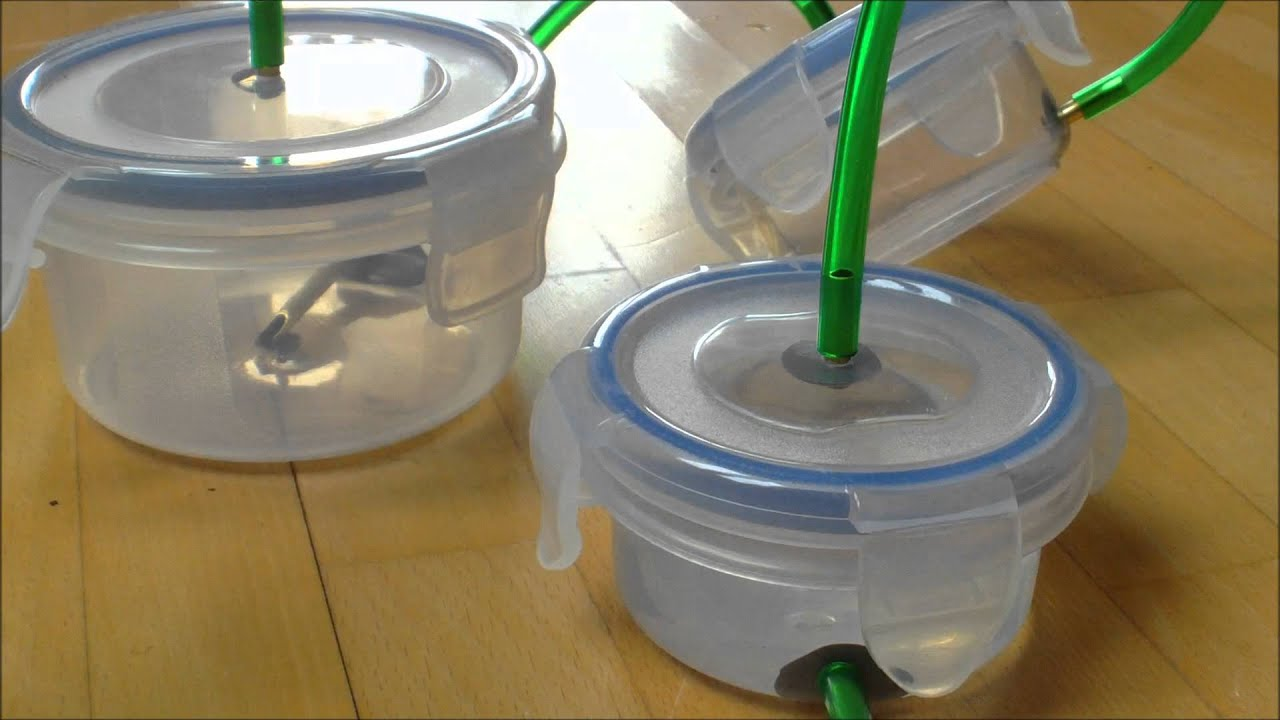 Self Made Canister Filter  External Filter  For An Aquarium    Selbstgebauter Aquarienfilter