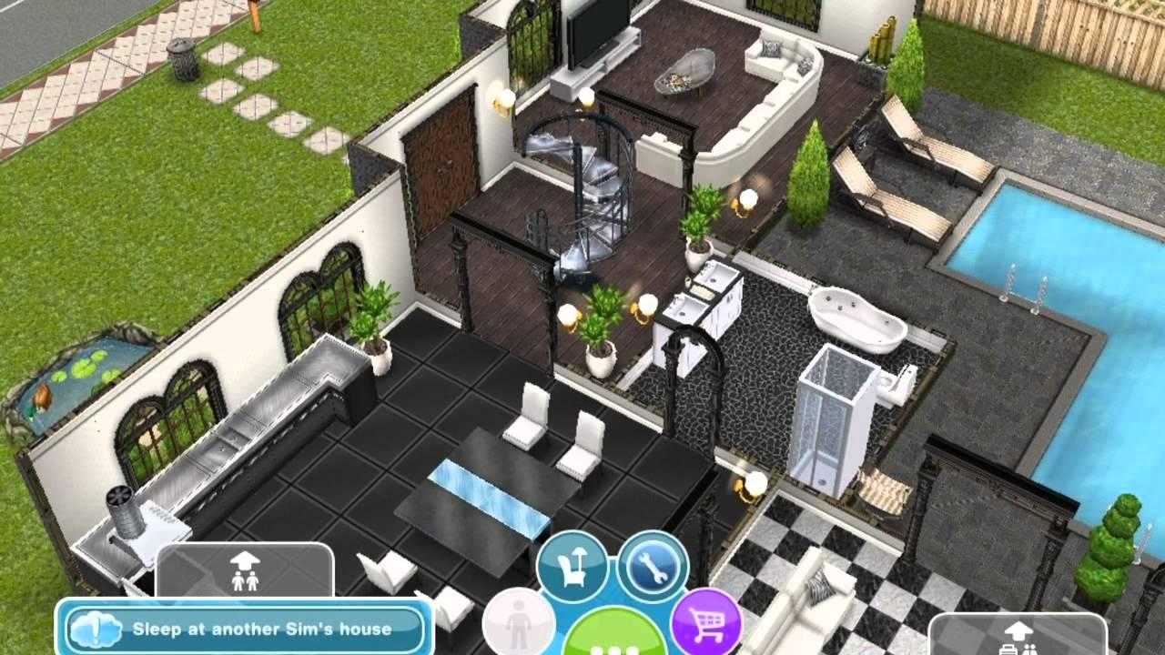 Sims Freeplay My 3 Storey House YouTube