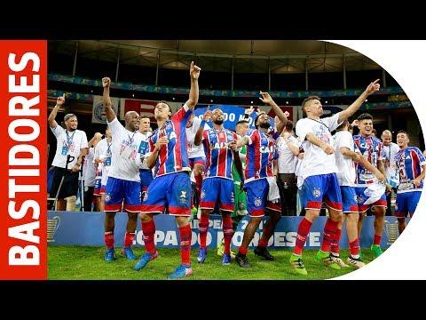 Esporte Clube Bahia divulga vídeo com bastidores do título do Nordestão