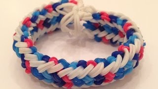 How To Make The Mini Snake Belly Rainbow Loom Bracelet