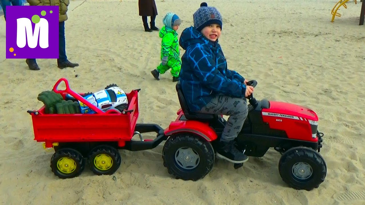 Смотреть ролики с большими тракторами бесплатно 8 фотография