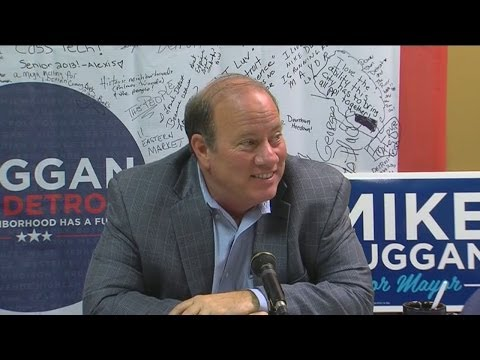 Mike Duggan holds news conference