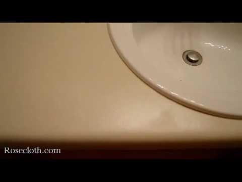 Rustoleum Countertop Coating Review - YouTube