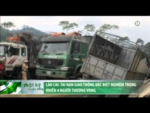 VTC14_Lào Cai: Tai nạn giao thông đặc biệt nghiêm trọng