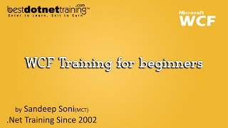 WCF Training for beginners : Introduction to WCF by bestdotnettraining.com view on youtube.com tube online.