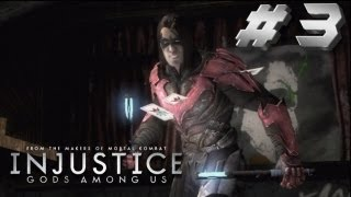 Injustice Story Walkthrough Part 3 Emo Nightwing!