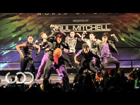 "WORLD OF DANCE 2011 - ""QUEST CREW"" Performance"