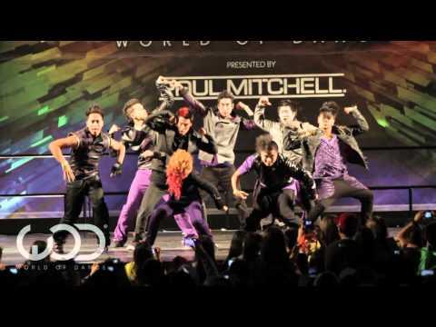 "WORLD OF DANCE 2011 - ""QUEST CREW"" Performance"