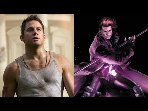 Channing Tatum Talks Taking On Gambit - AMC Movie News