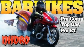 NHDRO 4: Turbo Dragbikes, Bar Bikes Motorcycle Drag Racing