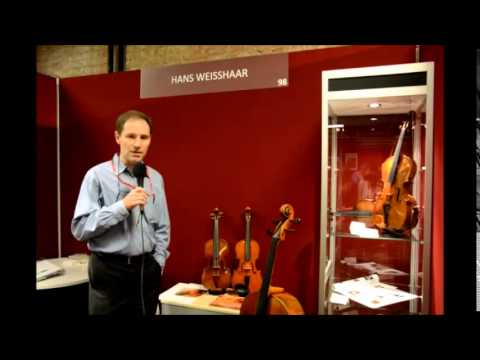 Mondomusica New York 2014 - The exhibitors: Hans Weisshaar