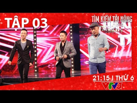 [FULL HD] Vietnam's Got Talent 2016 - TẬP 03 (15/01/2016)