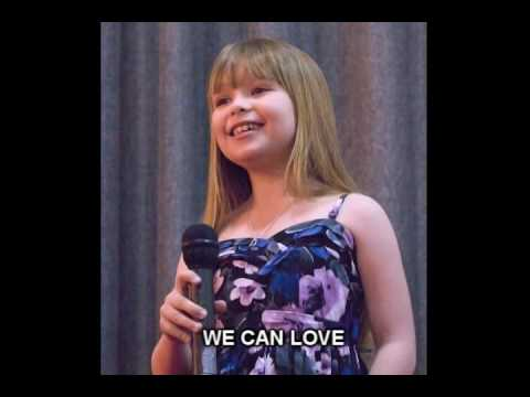 """We Can Love"" an original song for Connie Talbot to sing"