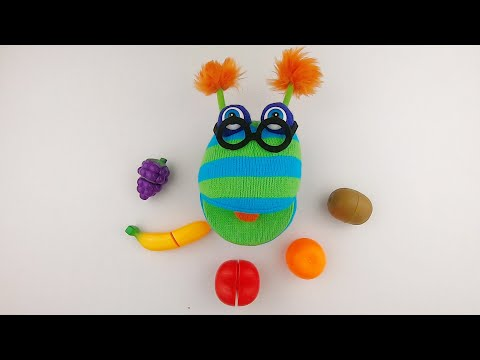 Learn Colors and Fruits for kids with funny puppet Dylan (Learn and Play)