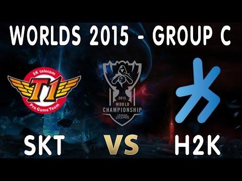 #3 SKT vs H2K Highlights - Chung kết thế giới mùa 5 ngày 01/10/2015