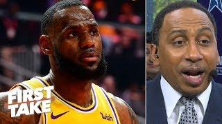 LeBron James lacks Michael Jordan's 'assassin' mentality – Stephen A. | First Take