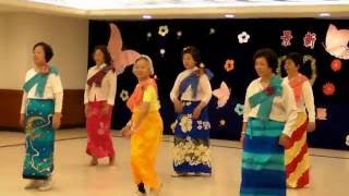 Cute Thai Cha + Oh La Naw Line Dance