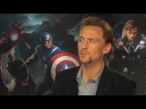 Tom Hiddleston Interview -- Avengers Assemble