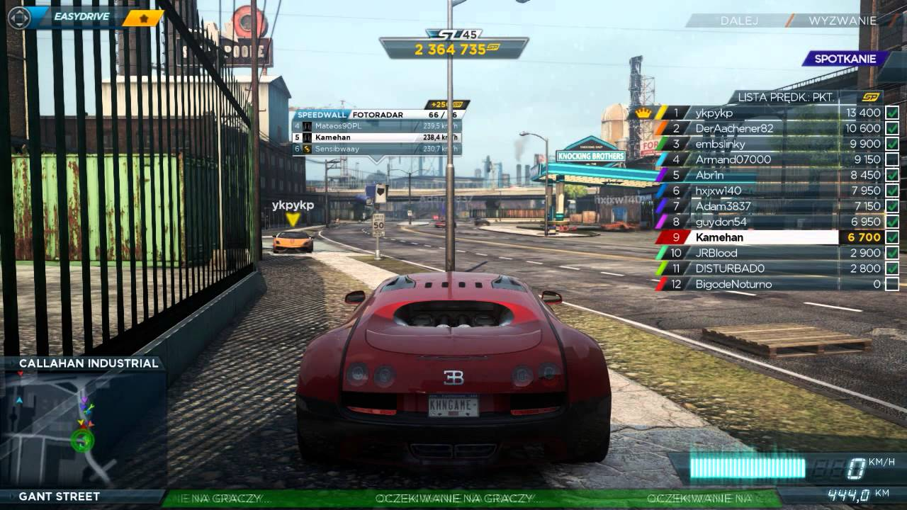 how to play nfs most wanted 2012 multiplayer