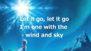 Let It Go Lyrics Full Song By Idina Menzel (Reuploaded