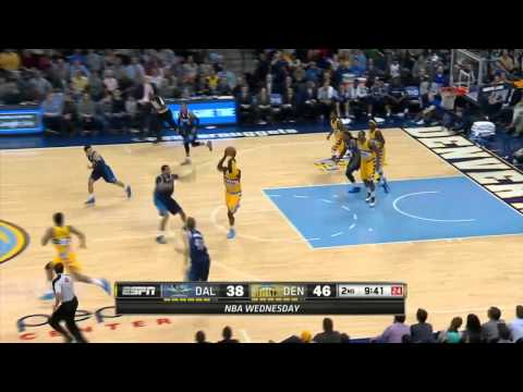 Dallas Mavericks vs Denver Nuggets | March 5, 2014 | NBA 2013-14 Season
