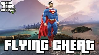 GTA 5 Flying Cheat Superman Flying Cheat Code (GTA 5
