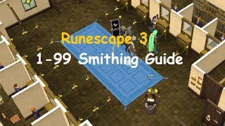 Runescape: Ultimate 1-99 Smithing Guide 2014