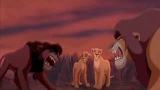 The Lion King Simba's Pride - Kovu Saves Kiara & Confronts Simba fandub/collab view on youtube.com tube online.