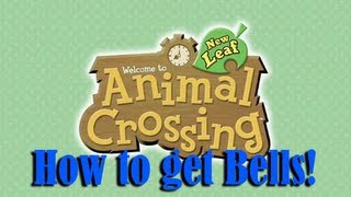 Animal Crossing New Leaf: How To Make Easy Bells (READ
