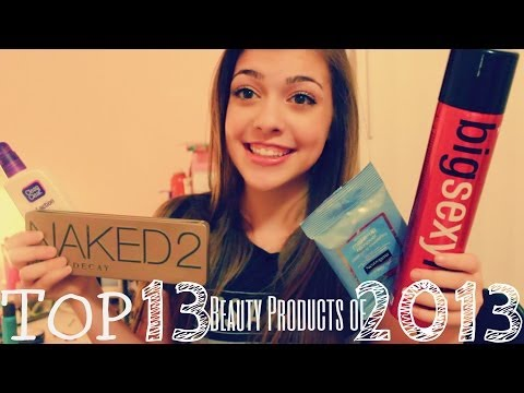 Top 13 Beauty Products of 2013