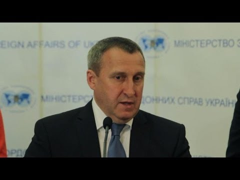 Ukraine FM: Putin, Poroshenko discuss possible meeting