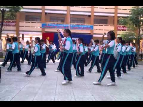 Flashmob Ly Ngua O-THCS Binh Tho-Giai Nhi