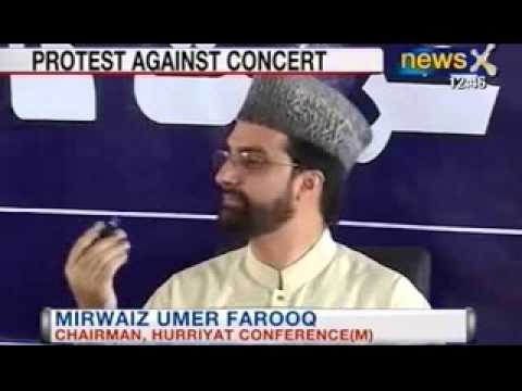 NewsX: Zubin Mehta's concert being opposed by separatists