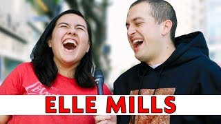 TELLING EACH OTHER WHAT TO SAY TO STRANGERS: Elle Mills | Chris Klemens