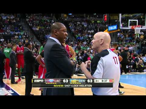 Los Angeles Clippers vs Denver Nuggets | March 17, 2014 | NBA 2013-14 Season