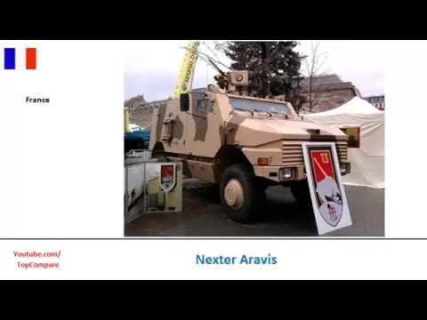 Nexter Aravis vs KMW Grizzly, mine resistant vehicle Key features