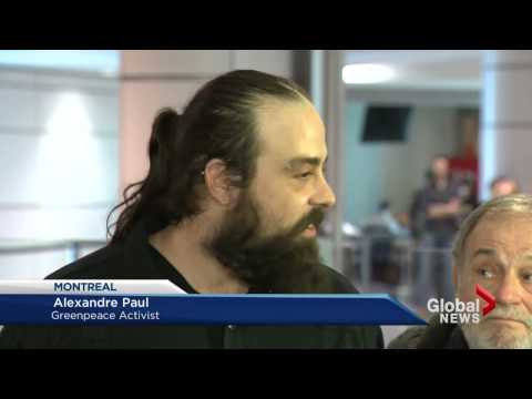 Greenpeace activists return to Canada