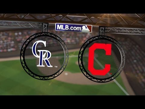 6/1/14: Bourn's walk-off gives Tribe sweep of Rockies