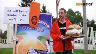 Capri-Sonne Verleihung Goldenen Windbeutels 2013 Video-Clip Foodwatch 2013