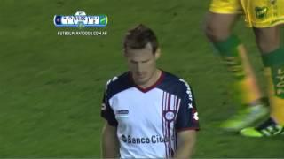 Ocasión de Cetto. San Lorenzo 1 - Defensa 2. 8vos de Final. Copa Argentina 2014. FPT