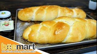 Hướng dẫn làm bánh mì ngọt cơ bản đơn giản mà hấp dẫn